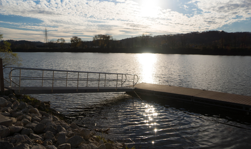 Nitro Boat Ramp and Dock; Nitro, West Virginia