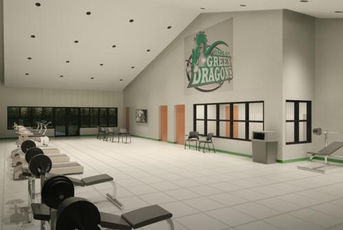 Harlan Independent Schools Field House and Concessions (Rendering), Harlan, KY