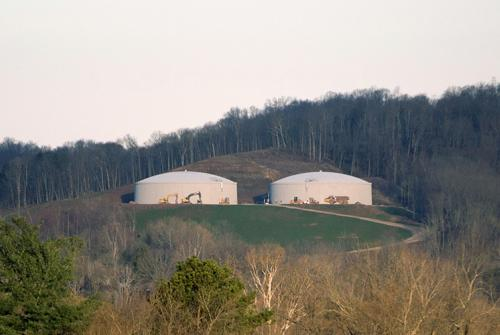WV American Water Storage Tanks, Saint Albans, WV