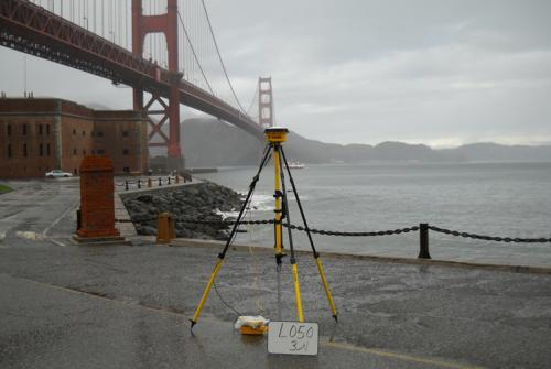 Golden Gate Bridge Surveying for California Coastal Mapping Program, San Francisco, CA